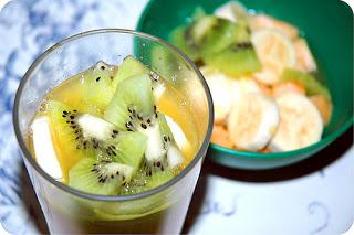 melao kiwi banana laranja