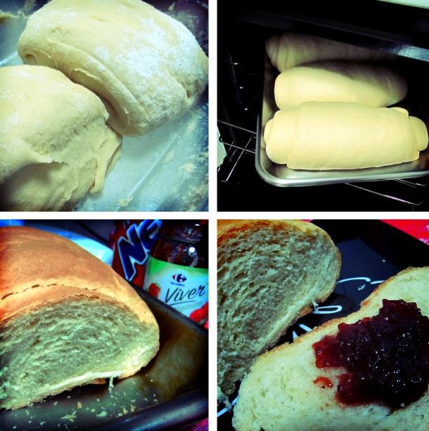 pão caseiro fácil, com jeitinho de interior - foto celular